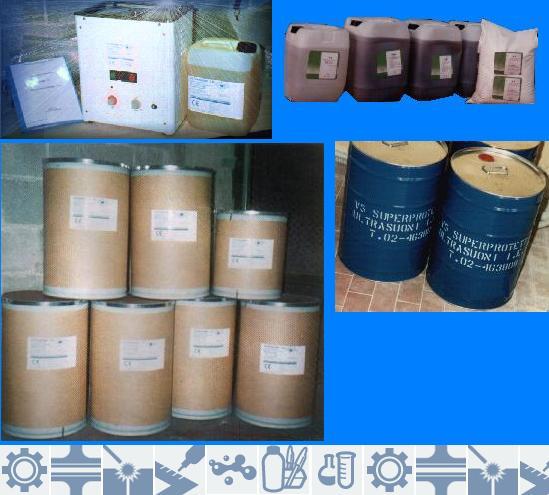detergenti e protettivi ottone,alluminio e inox