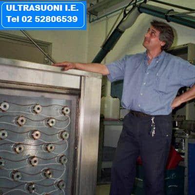 Lavatrici industriali ultrasuoni