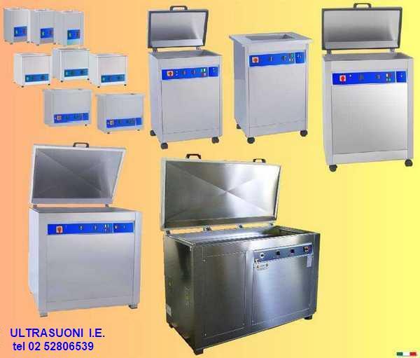 Lavatrici per officina produzione e manutenzione