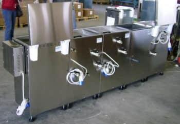 Macchine ad ultrasuoni e pulitrici per ogni esigenza orafa