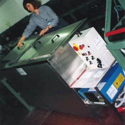 Macchine di sgrassatura stampi e filiere
