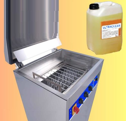Lavatrici ad ultrasuoni per meccanica funzionanti a detergente biodegradabile
